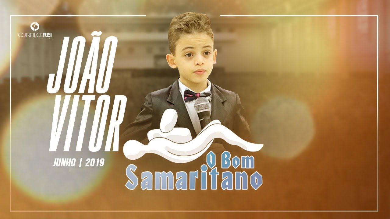O Bom Samaritano Pregador Mirim Joao Vitor Ota Youtube