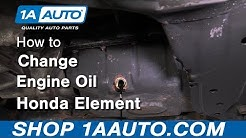 How to Change Engine Oil 03-11 Honda Element