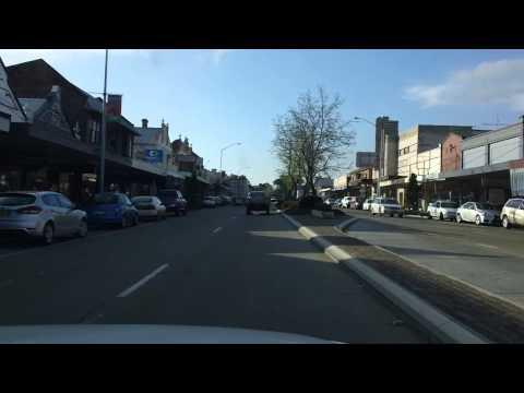 Scone New South Wales Australia A Drive Through