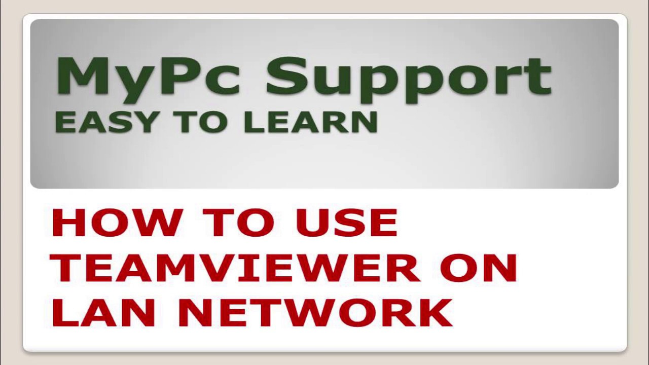 How To Use TeamViewer Offline | How to use Teamviewer for Lan Network  without Internet