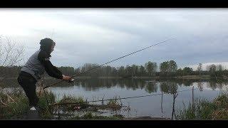 рыбалка на карася! рыбалка с ночёвкой! ловля карася.