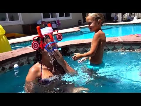 BEST POOL PARTY GAME EVER!! | Slyfox Family