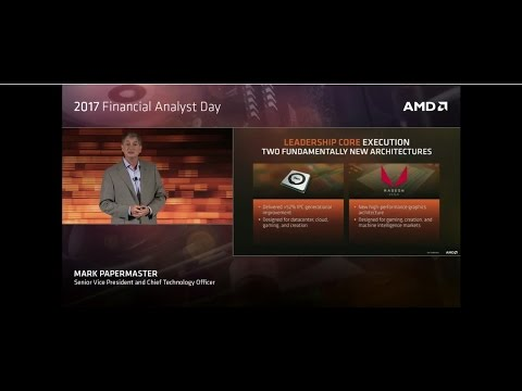 AMD 2017 Financial Analyst Day Live Stream !!! Vega revealed!!!