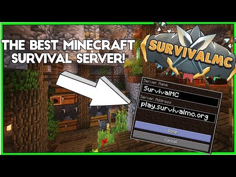 SurvivalMC | Semi-Vanilla 1.12.2 |  Trailer