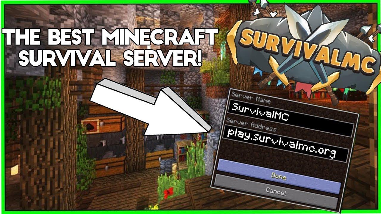 SurvivalMC | A Semi-Vanilla Server | Vote Ranks | 1 12 2