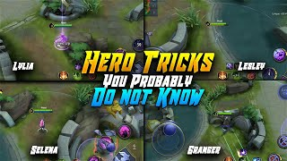 Top 5 Ml heroes tricks you probably don't know | Mobile Legends