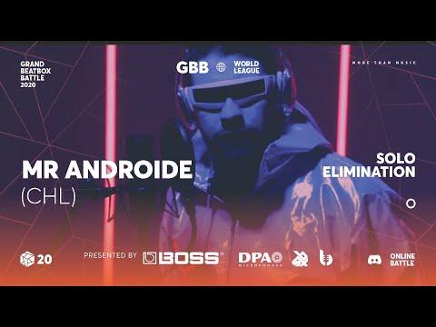 Mr. Androide | Grand Beatbox Battle Online 2020 | Solo Elimination #16