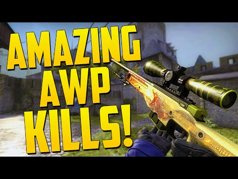 AMAZING AWP KILLS! - CS GO Funny Moments in Competitive