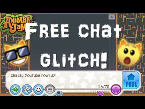 How To Get Free Chat For Jammer Wall! GLITCH (Animal Jam)