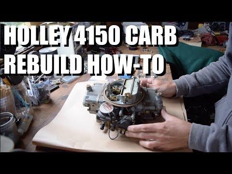 PoF // Ep 49 - How to rebuild a Holley 4150 carburetor