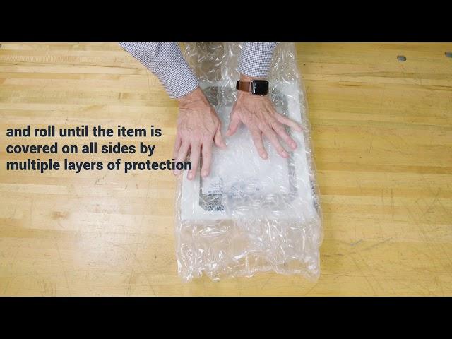 How To Pack: Pregis Quilt Medium (Pillow Pak)