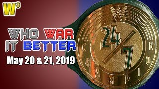 Introducing ... The 24/7 Championship! | Who War It Better