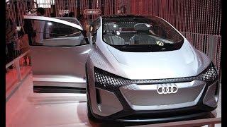 奥迪展台:新能源概念车竟没有方向盘 | CESA2019