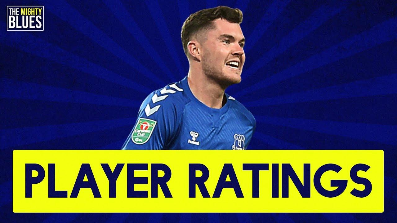 Player Ratings!   Everton 3-0 Salford City