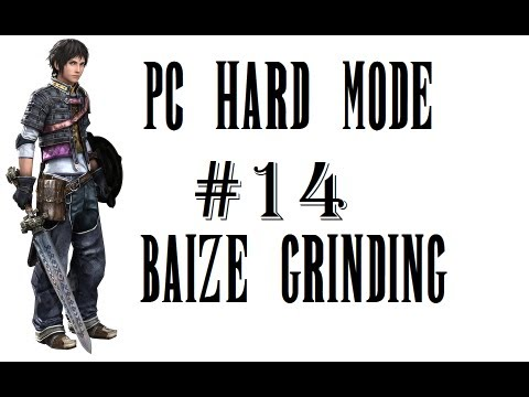 The Last Remnant PC Hard Mode Part 14 - Baize Mystic Seal Grinding to BR39