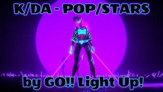 Download K/DA - POP/STARS - (METAL COVER)