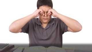 Rubbing the Eyes - One Sign Your Child May Have A Vision Problem