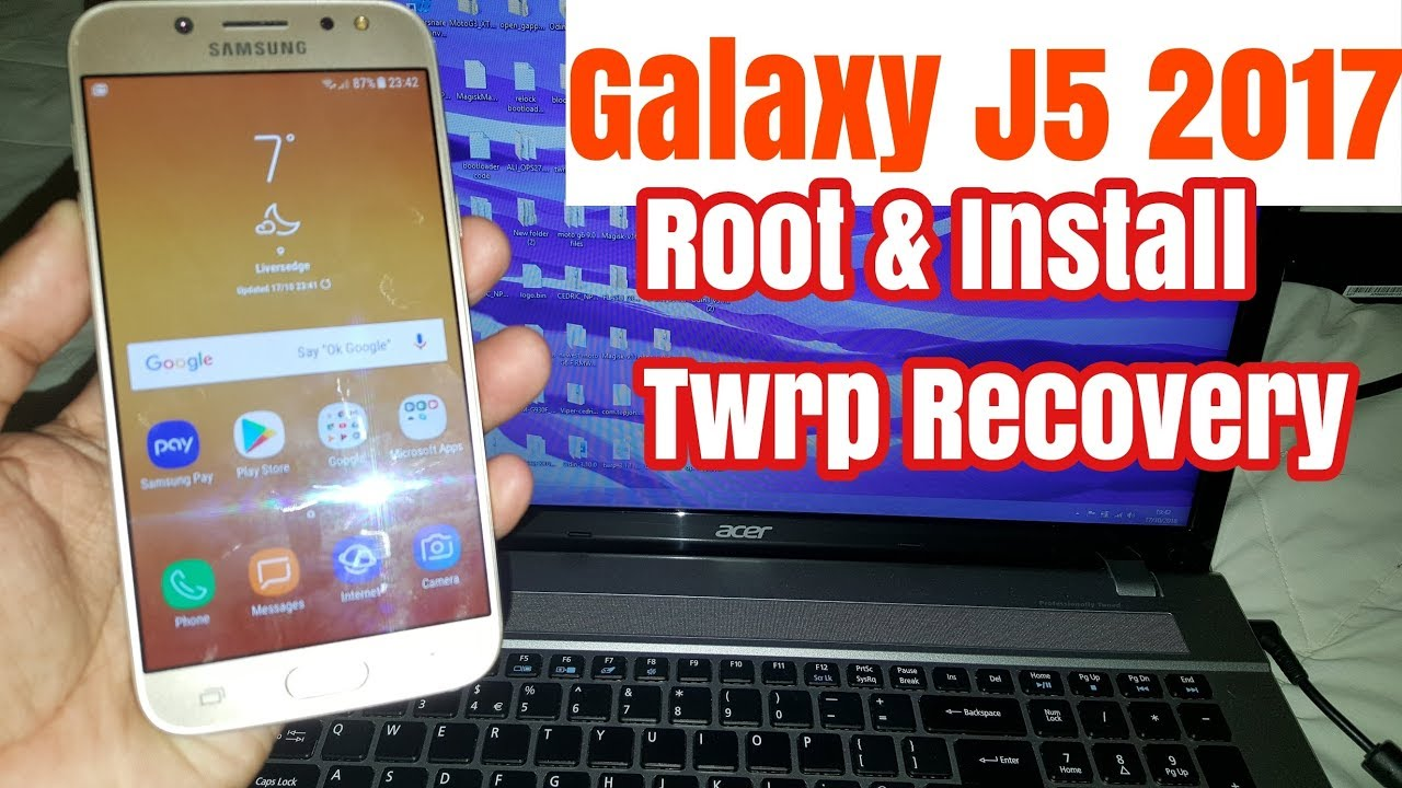 Samsung Galaxy J5 2017 Root & Install Twrp Recovery 100% Working