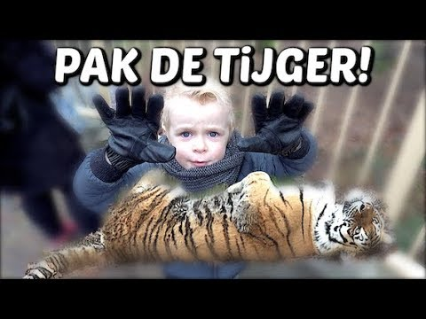OUWEHANDS DiERENPARK 🐯 ( winactie) | Bellinga Familie Vloggers #1234