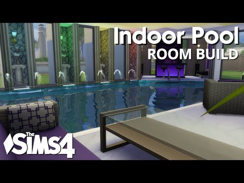 The Sims 4 Room Build - Indoor Pool