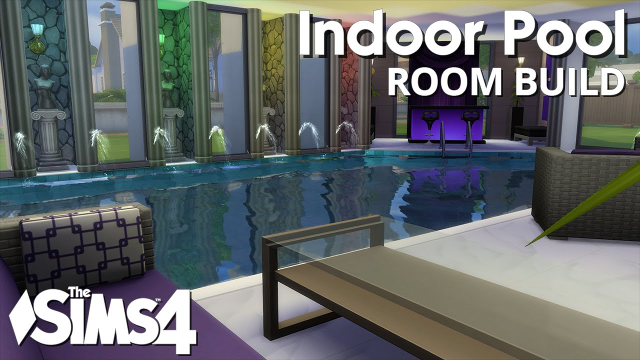 The Sims 4 Room Build Indoor Pool Youtube