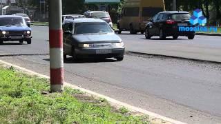 Карточный ремонт на Московском шоссе в самом разгаре