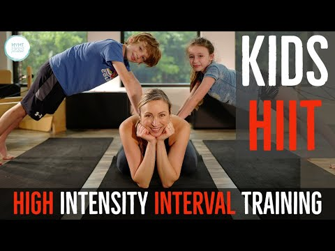 Kids HIIT Workout (High Intensity Interval Training and Tabata for Families)