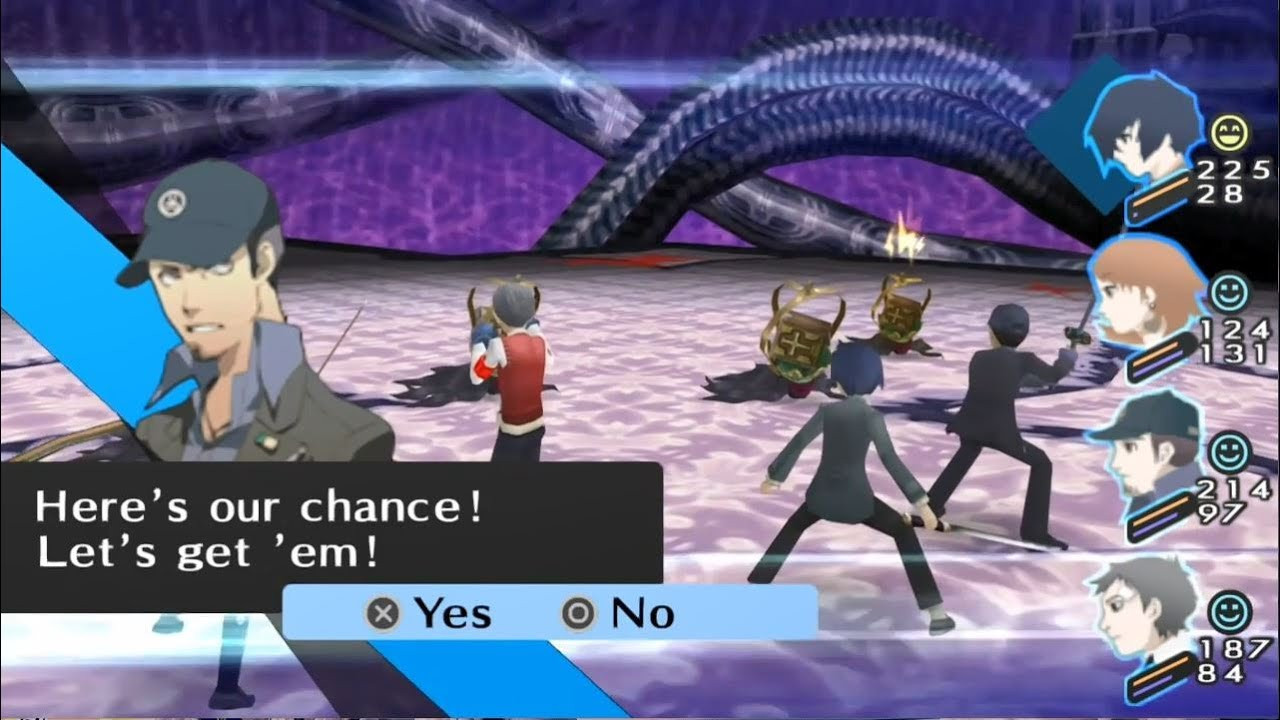 Persona 3 Fes Texture Pack