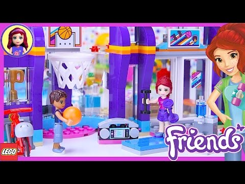 LEGO Friends Heartlake Sports Center Build Review Silly Play - Kids Toys