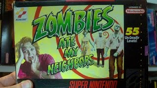 Zombies Ate My Neighbors (SNES) James & Mike Mondays