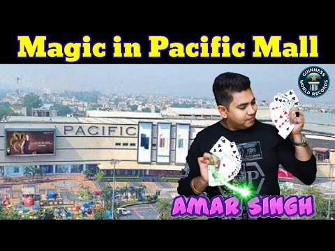 Pacific Mall | Magician Amar Singh | Guinness World Record Holder Magician