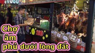 """Độc đáo chợ """"âm phủ"""" dưới lòng đất ở Sài Gòn I Negative market underground in Saigon"""