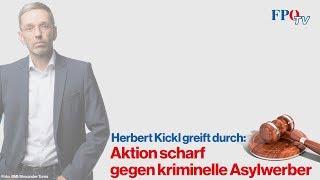 Herbert Kickl greift durch: Aktion scharf gegen kriminelle Asylwerber