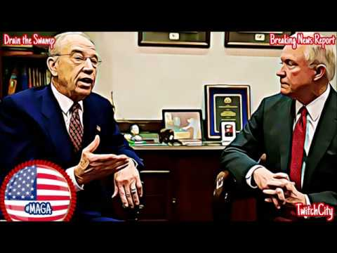 Senator Chuck Grassley BLASTS Failed Attorney General Jeff Sessions