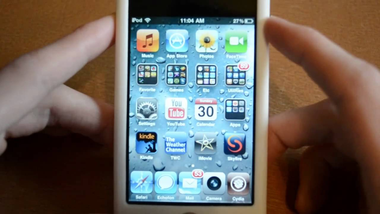 iphone 2g springboard