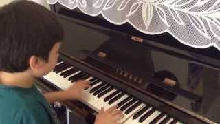 Joel plays Hebridean Song by Christopher Norton on the Piano