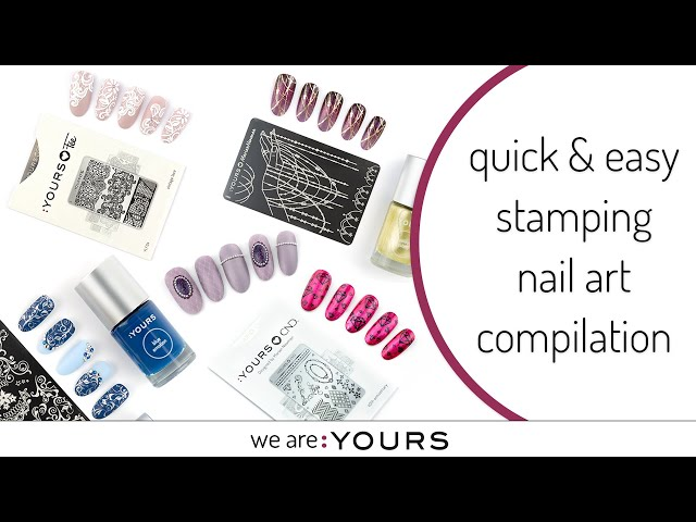 10 Quick & Easy Stamping Nail art Compilation 2020