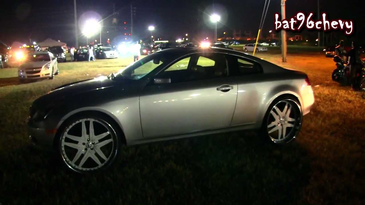 Infiniti g35 coupe lifted on 26 forgiatos 1080p hd youtube vanachro Image collections