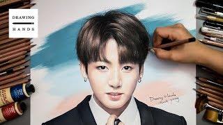 Download lagu Speed Drawing BTS Jungkook