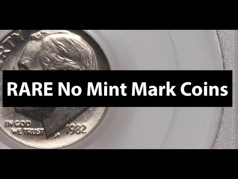 No MINT MARK Coins? Complete No Mint Mark Guide CENTS To DOLLARS