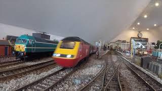 Large 40ft loft layout OO gauge model railway no 79