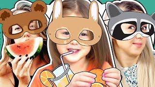 ЧЕЛЛЕНДЖ Угадай вкус еды! FOOD Challenge! Вызов принят! Видео для детей!