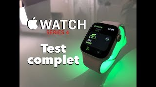 Journée avec l'apple watch Series 4: test complet