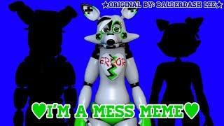 [OC/C4D] - I'm A Mess Meme - 💚✖️Gift for •Yuna SFM•✖️💚