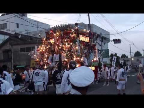 2013 直方山笠 多賀区流