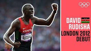 David Rudisha's 🇰🇪first Olympic race! | Debuts