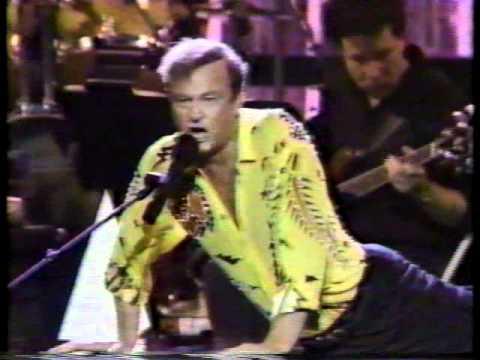 Peter Allen performs