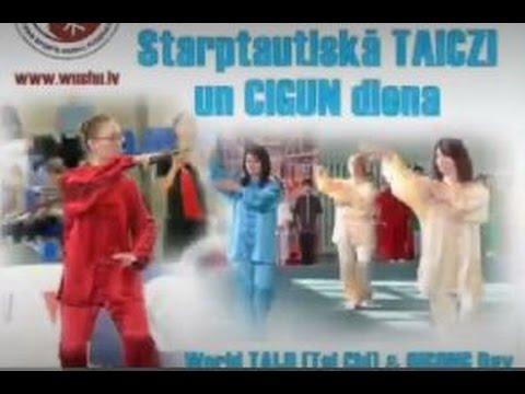 World Tai Chi & Qigong Day 2015  Firstly in Riga