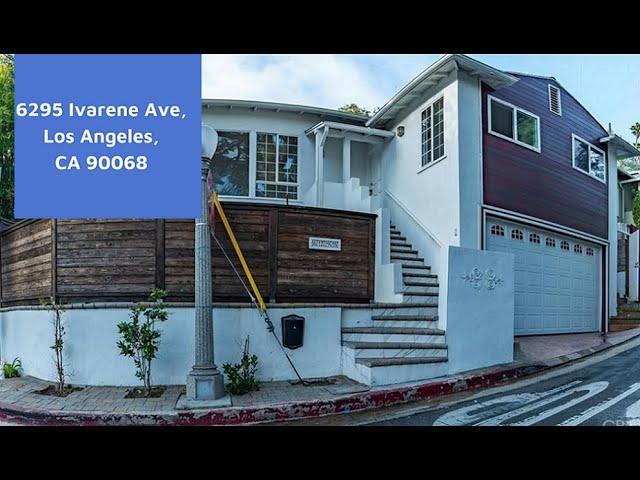Turbo Tour! LOW BAT- 6295 Ivarene Ave, Los Angeles CA 90068
