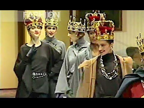 Vintage Exclusive! GIANNA CASSOLI Fall 1988 1989 Milan - Canale Moda